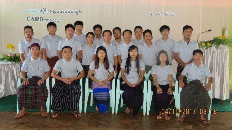 Farmer-Led Extension Course Graduation Ceremony