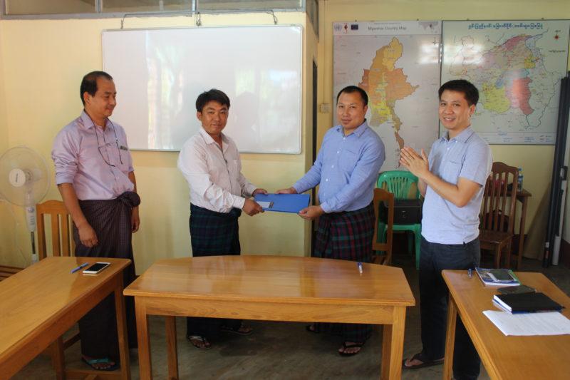 Welcoming New Branch Office Coordinator