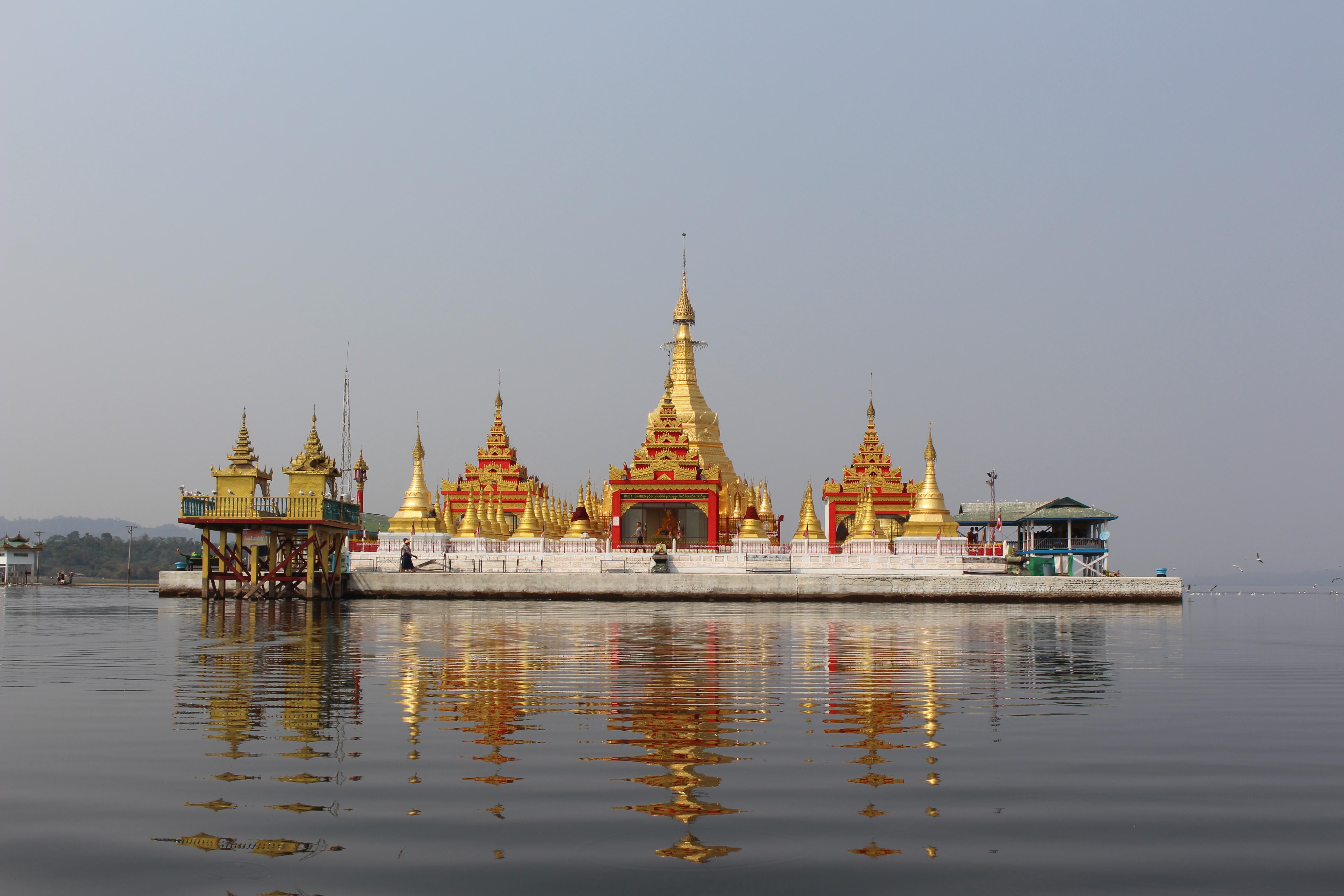 Monitoring Visit To Indaw Gyi Lake Area